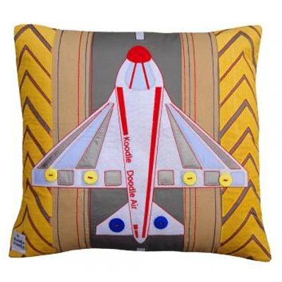 Jetset Square Cushion
