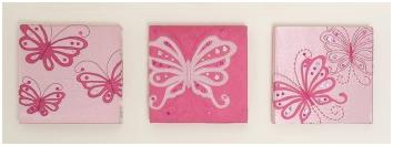 Flutterby wall art