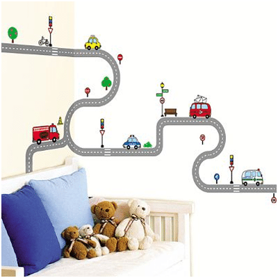 Transport Large Wall stickers