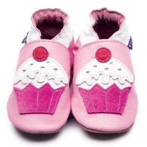 Cupcake baby shoes