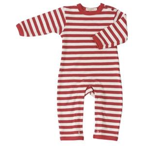org Red-stripe-romper