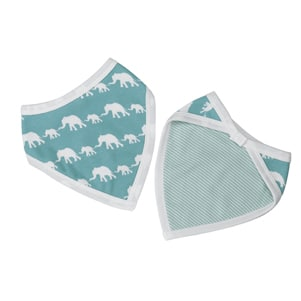 Bibs-elephants-blue