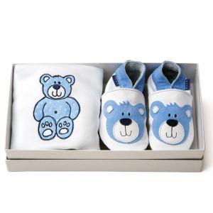 ib Teddy-giftset-blue