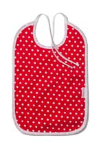 Cottonbaby bib red