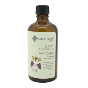 Celtic Herbal Baby massage oil