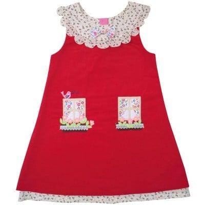 Red Cottage Dress