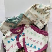 Baby hamper pink and neutral