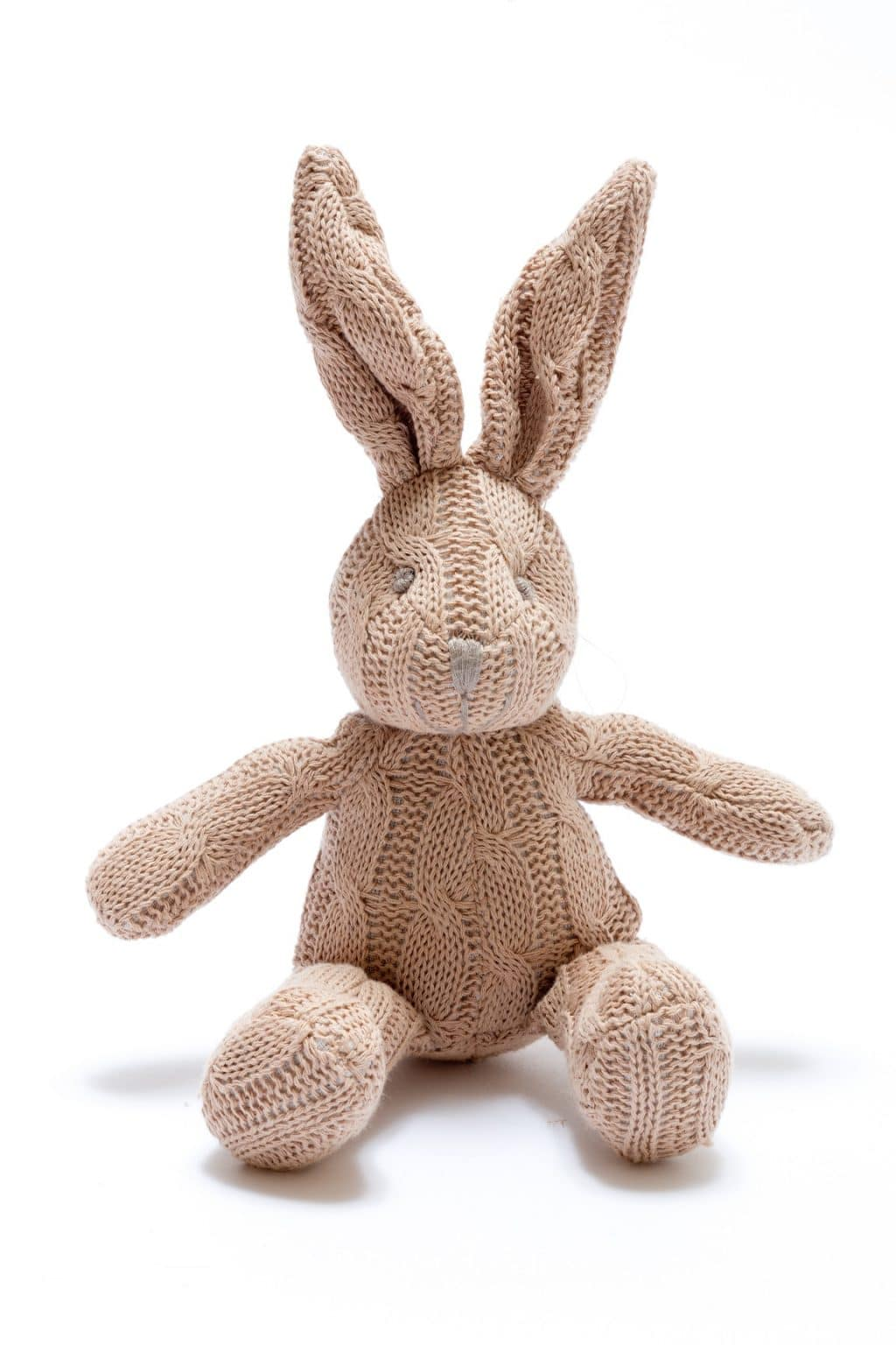 Cable Knit Brown Bunny