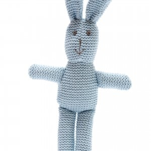 blue organic bunny