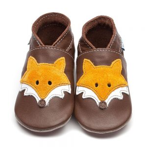 Mr Fox Baby Shoes Inch Blue