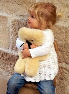 The ultimate teddy bear, the FLATOUT bear is made of Australian sheepskin and it is an absolute gorgeous baby gift