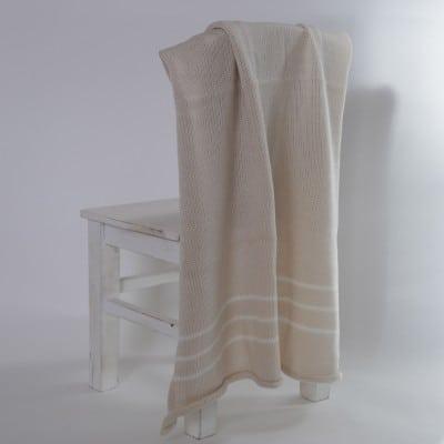 Merino Blanket cream