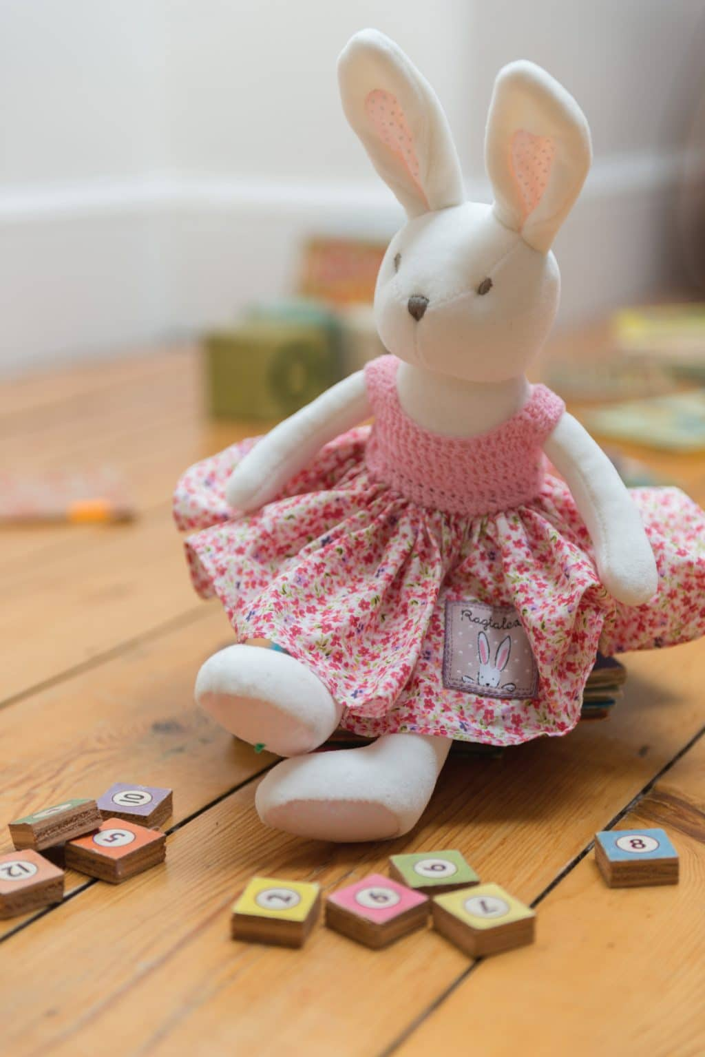 Baby Gifts Via Post : Fifi the rabbit little lavender tree