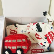 London theme baby hamper