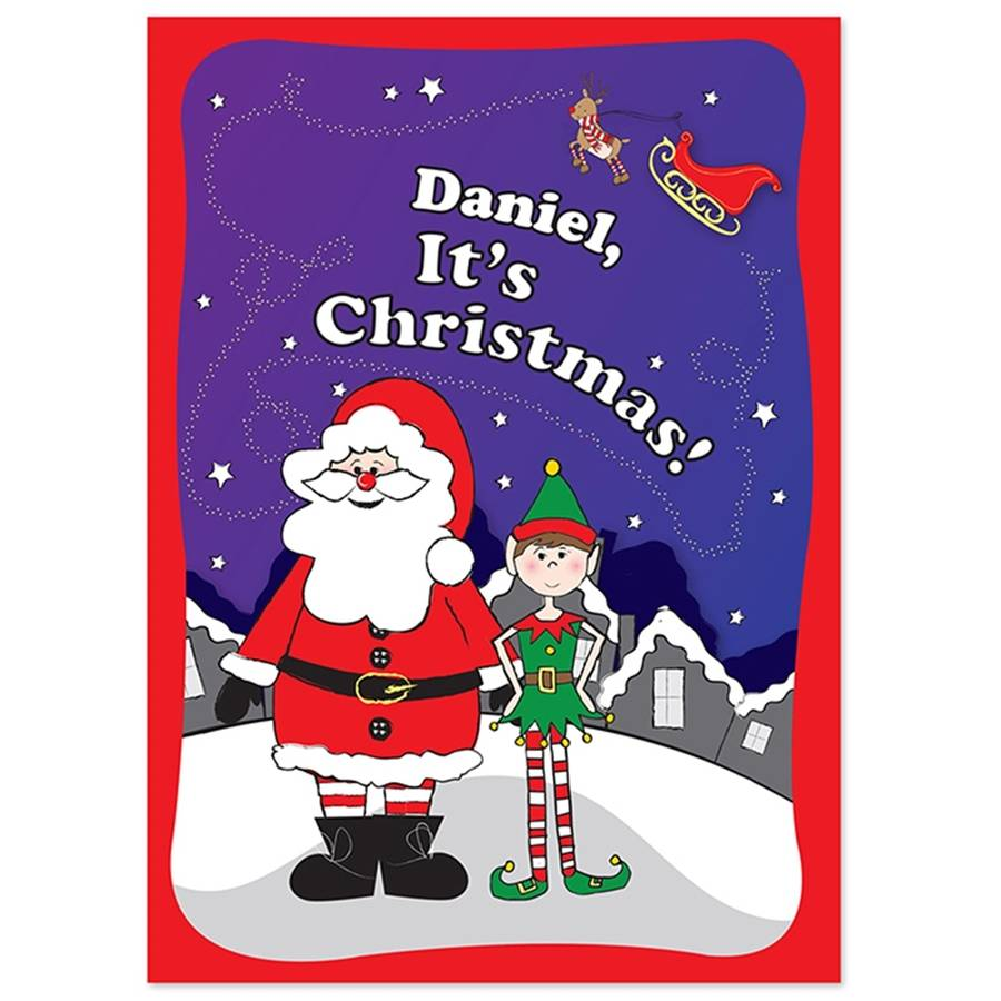 Personalised Book - It's Christmas