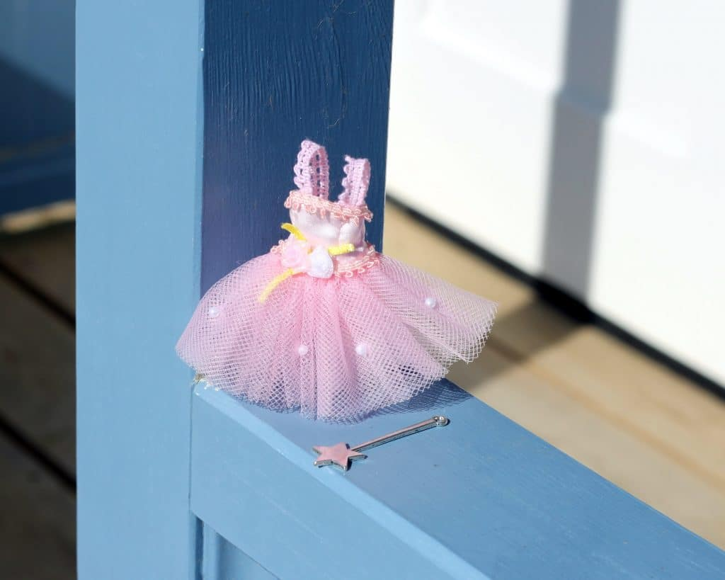 Tutu and magic wand for fairy door the little lavender tree for Little fairy door accessories