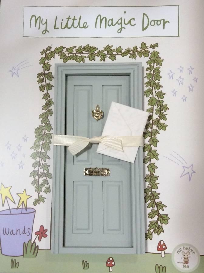 Fairy magic door sage green the little lavender tree for My little magic door