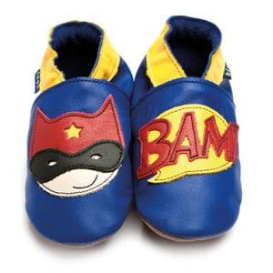 Superhero baby shoes