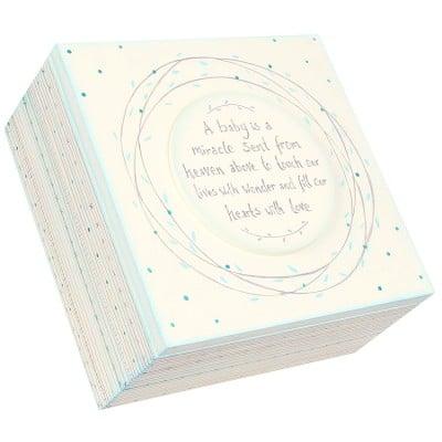 Baby Memory Box Blue