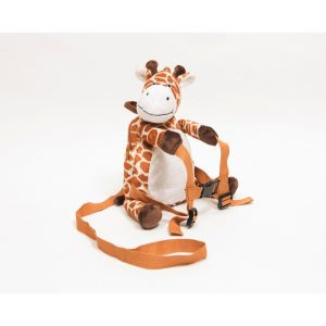 Raffy the giraffe reins