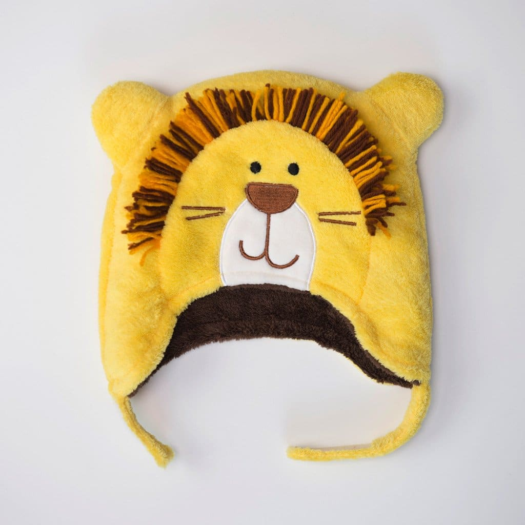 FlapJackKids Monkey/Lion - Winter Hat - 6-36 months × 5