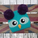 Owl bobble hat