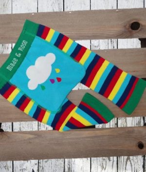 Rainbow leggins