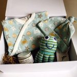 Seaside baby hamper