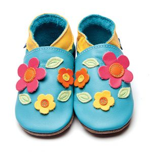 Daisy Inch blue baby shoes
