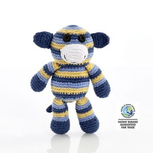 Crochet monkey rattle Best Years