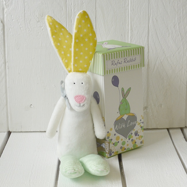 Rufus rabbit rattle