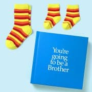 Pooters you're going to be a brother gift