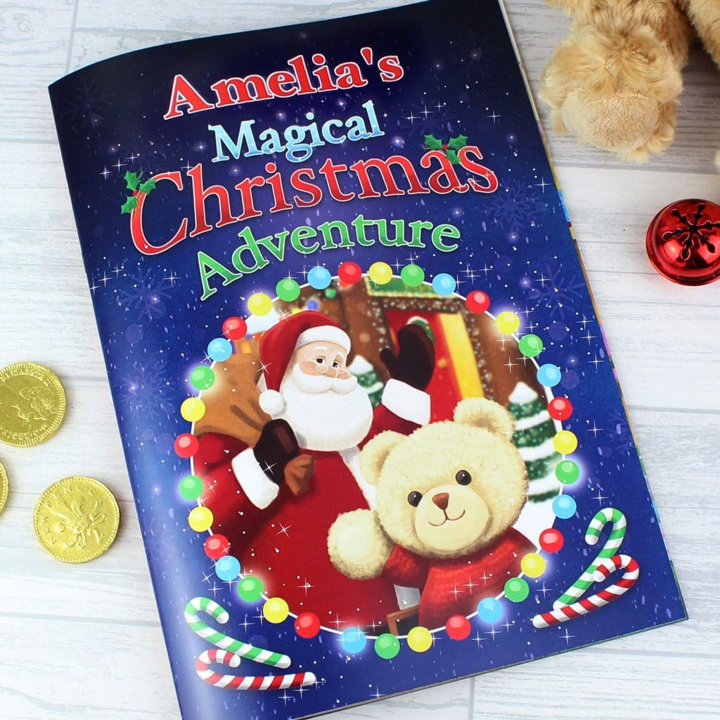 Personalised book Christmas adventure
