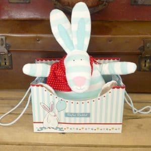 Rufus Rabbit sensory Boy Toy