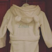 Personalised Fleece robe