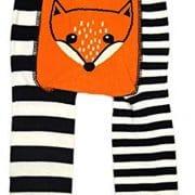 Fox leggings blade and rose