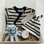 Baby Hamper French stripes