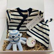 Baby Hamper French stripes