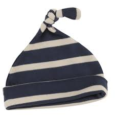 PIgeon organics navy breton hat