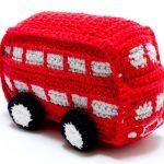 Best years crochet red London bus