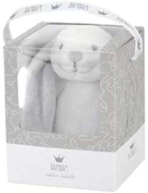 Bam Bam Grey Rabbit Cuddle Soft Toy