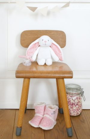 Bam Bam pink Rabbit Cuddle Soft Toy